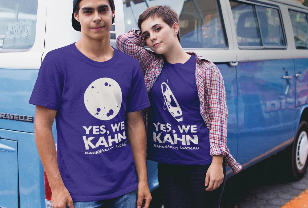 """T-Shirt Kahnnacht """"YES WE KAHN"""""""